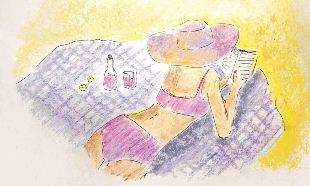 Meditazioni da ombrellone: cosa significa leggere (in spiaggia)