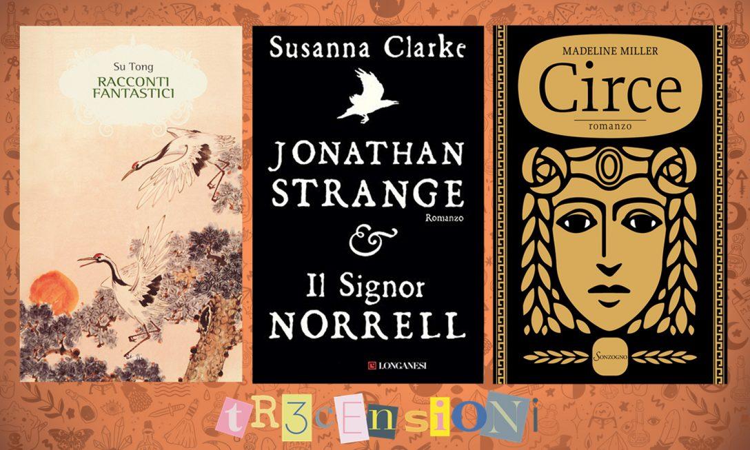 Tr3censioni di ottobre: tre libri magici