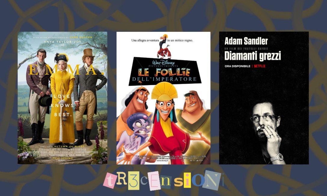 Tr3censioni di dicembre: tre film per buoni e cattivi